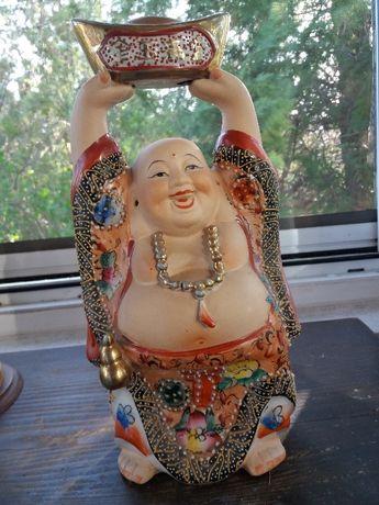 Statueta portelan Buddha