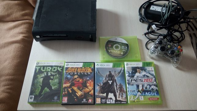 Consola Xbox 360 120 GB 1 Controller Original 5 + 2 Jocuri