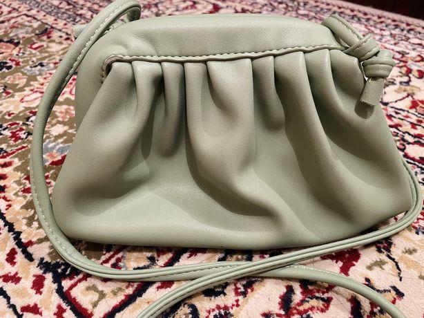 Фисташковый цвет сумка