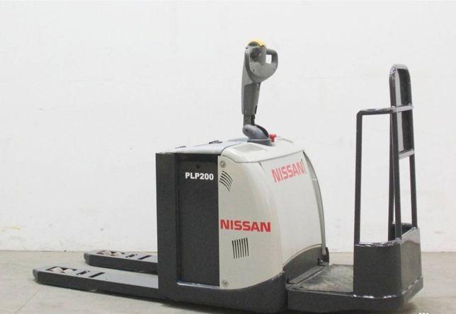 Transpalet electric NISSAN PLP200F an fabricatie 2012