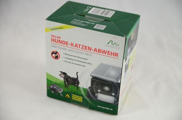 Соларна защита срещу кучета и котки /кучегон и котегон/, ново, немско,