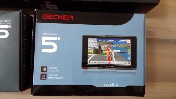 GPS навигация BECKER 5'' и 6,2'' - нови!