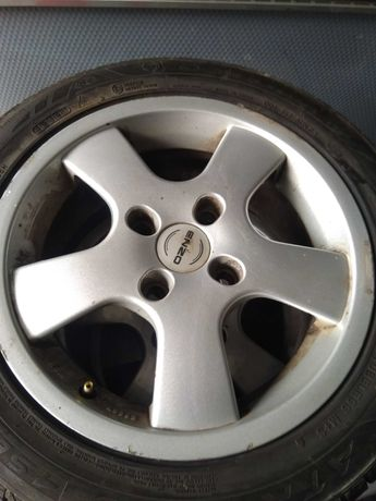 """4*114,3-15""""ал.джанти със гуми"""