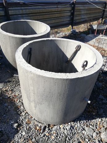 ЖБИ кольца, крышки и днища, для септика и канализации!
