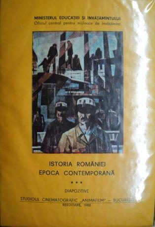 """COLECTIE: Diapozitive """"Istoria Romaniei-Epoca Contemporana Vol. 3"""""""