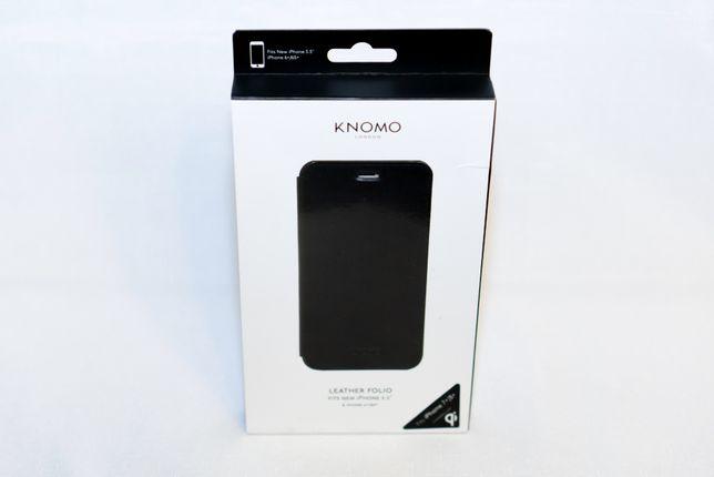 Husa, carcasa din piele Knomo Premium pentru iPhone 7+ , 8+