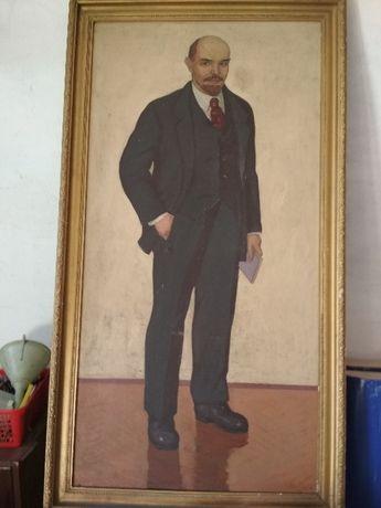 Портрет Ленина. Холст. Масло. 1959г.