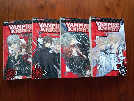 Vând manga Vampire Knight vol 1 -4