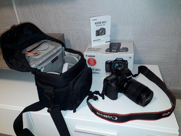 Продам профессиональный фотоаппарат Canon EOS 80D