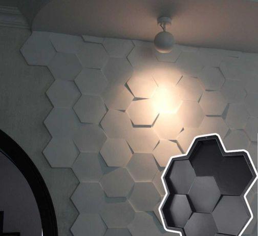 Matrita 3d decor hexa
