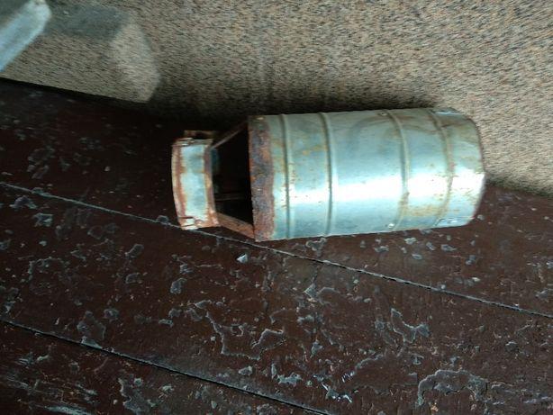 Антиветровая труба дефлектор (насадка, козырёк)