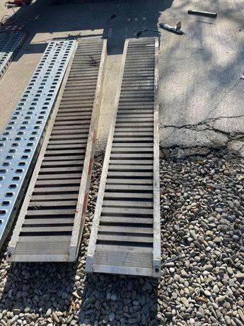 Vand cale rampe incarcare aluminiu platforme utilaje 2.5 metri