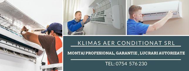 250 ron - Montaj Profesional/Instalare aer conditionat