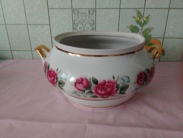 Супница, тарелки. Фарфор СССР
