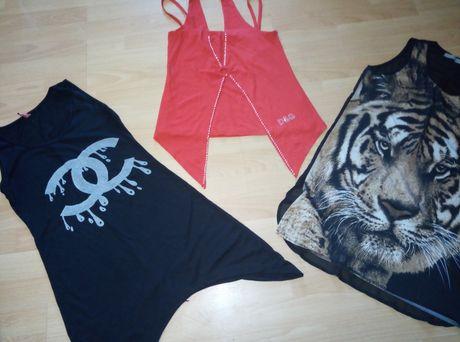Bluze noi f moderne si estetice C.Chanel,D&G