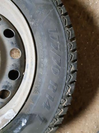 Срочно продам шина плюс диска размер r 14, 175,70