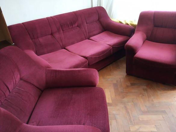 Диван с 2 фотьойла