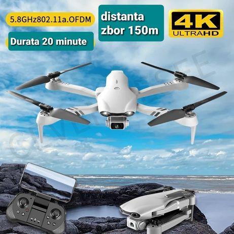 Drona pliabila, Camera 4 k, zbor 20 min,cu 2 camere, D 150 metri, Noua