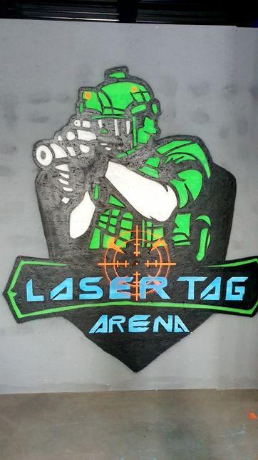 Amenajam(construim) sali, arene de laser tag