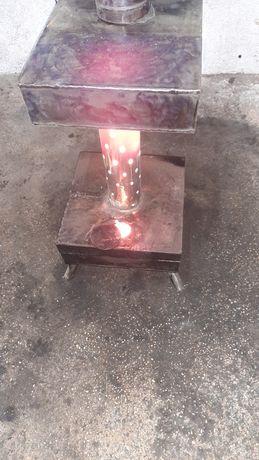 Печка на отработено масло