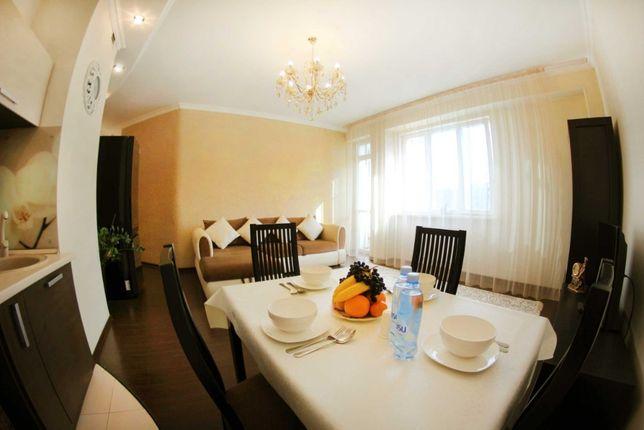 Двухкомнатная квартира в ЖК рядом с ТРЦ МЕГА и Атакентом