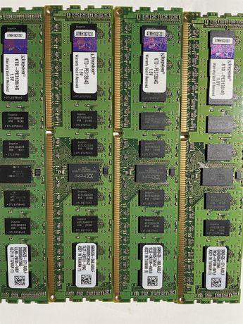 Kit 4 memorii server Kingston KTD PE 3138 4G, 1,5V, DDR3