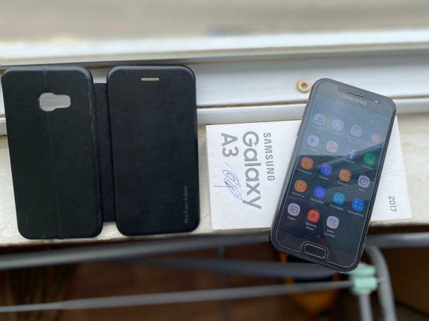 Samsung A3  ( 4G+ отпечатка) Black