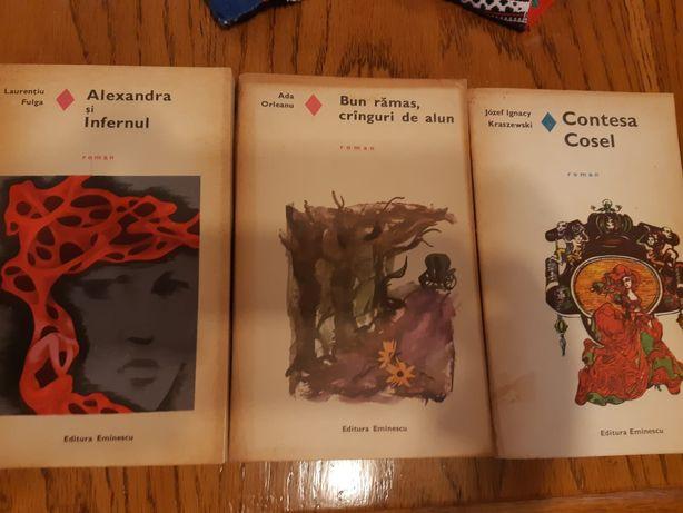 Cărți vechi, autori români și străini