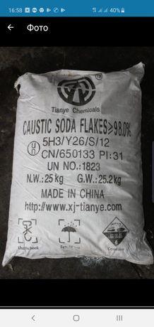 Сода каустическая(едкий натрий)98% недорого