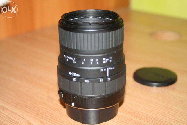 Obiectiv Sigma(TELE) 70-210mm,UC II f/1:4-5,6 400LEI