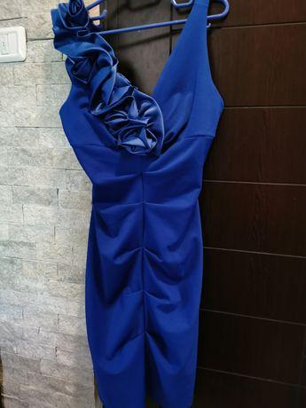 Rochie albastru electric masura 40,L-M