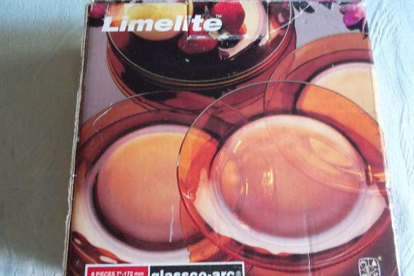 Немски сервиз от дуралекс, 6 чинии за десерти или други неща