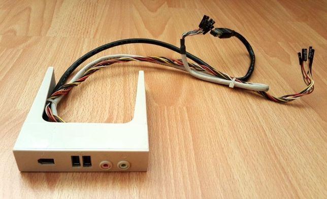 Placă frontală PC cu firewire 2xUSB audio și microfon