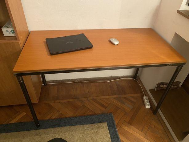 Masa tip birou din lemn si fier
