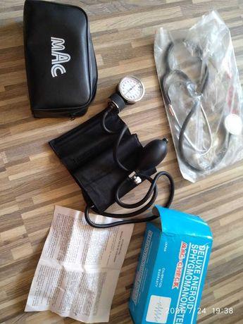 tensiometru clasic, cu stetoscop