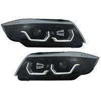 Faruri 3D LED Angel Eyes BMW Seria 3 E90 (05-08)