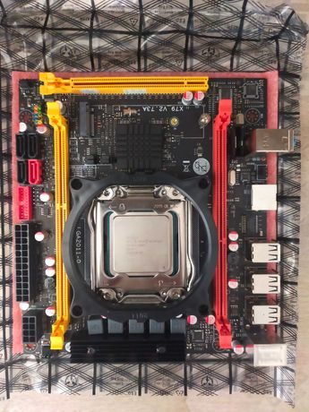 Комплект: Процессор + Материнская Плата + Оперативная Память(Охлад)
