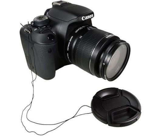 Capac Obiectiv Foto 49/52/55/58/62/67/72/77/82/86 mm Canon/Nikon/Sony
