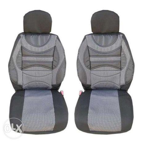 Комплект калъфи за предни седалки тапицерия за автомобил кола