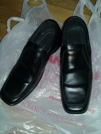Туфли кожаные детские для мальчика, 36 размер.