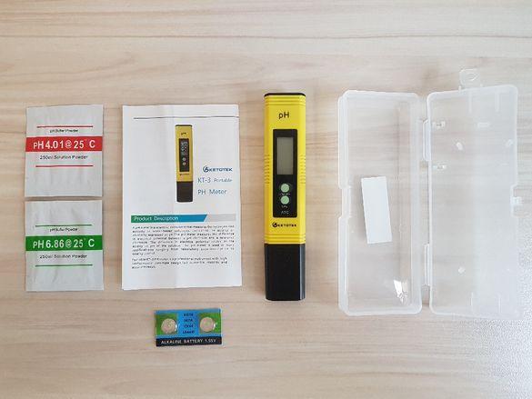 PH meter (ПХ метър) измерване на киселинност и алкалност