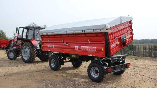 Тракторный прицеп Metal-Fach т710 8т. (производство Польша)