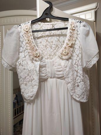 Белое платье на свадьбу, узату, выпускной, вечеринку