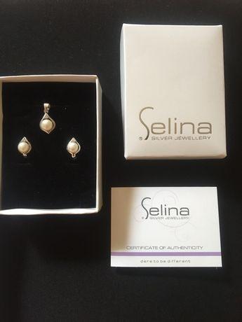 Комплект обеци и колие Selina