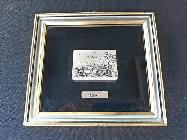 Tablou vechi argint 800
