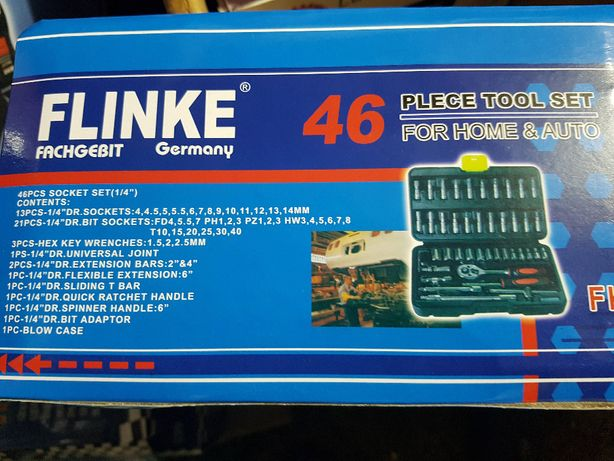 Trusa tubulara FLINKE 46 buc ...