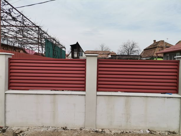 Garduri si porti sipca metalica si profile lamelare