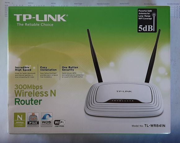 2x Routere Wifi TP-Link / Linksys WRT160NL