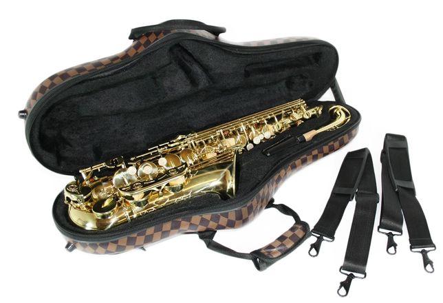 Case geanta transport Saxofon TENOR deluxe maro special design