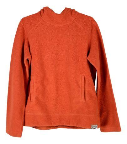 Hanorac Dama Nike marimea M Polar Portocaliu Pullover Vintage Q88